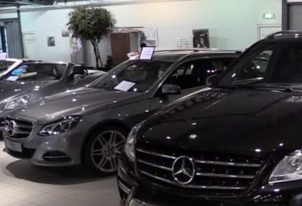 Piata auto a crescut cu mai putin de 10% in primele 10 luni
