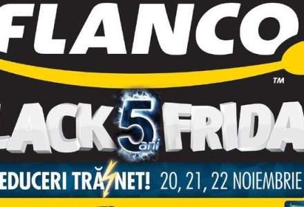 Flanco a publicat catalogul de reduceri pentru Black Friday