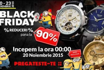 Black Friday 2015: ceasuri cu reduceri de pana la 90%