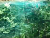 Lacul care nu ingheata...