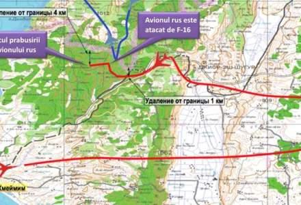 Razboiul hartilor radar s-a incins intre Rusia si Turcia. Unde se afla de fapt avionul rus cand a fost doborat?