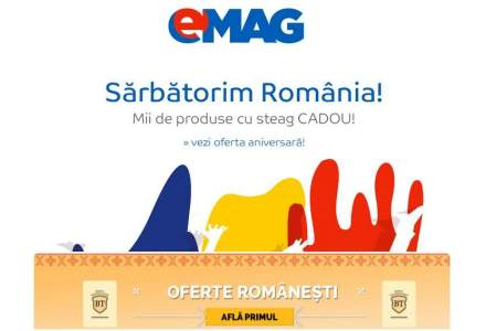 """eMag, reduceri de 1 Decembrie. Banca Transilvania anunta si ea """"oferte romanesti"""" prin newsletterul eMag. Ce produse romanesti sunt la reducere"""