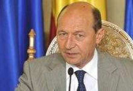 Basescu catre Franks: Deficitul e dramatic. Trebuie sa reducem toate bugetele