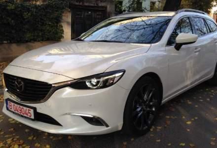 "Test Drive Wall-Street: Mazda6 facelift wagon, primul ""sase"" 4x4"