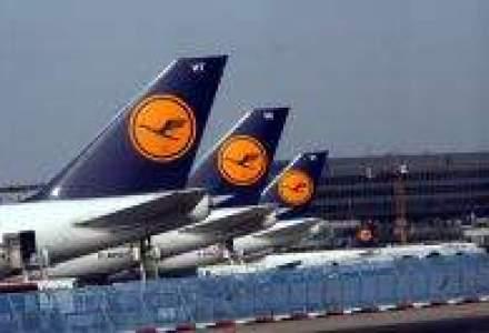Lufthansa, crestere de 9% a numarului de pasageri, in august