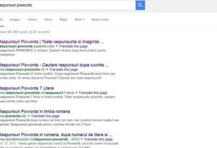 Ce au cautat romanii pe Google in 2015: jocul Pixwords, dar si Simona Halep