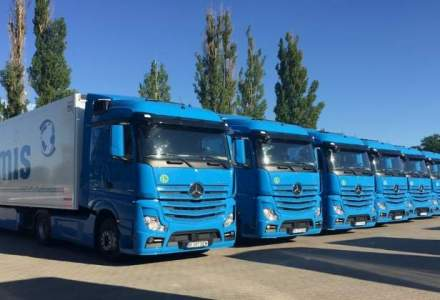 O companie din Pitesti a cumparat 124 de camioane Mercedes-Benz
