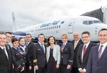 Blue Air a inaugurat ruta Bucuresti - Glasgow
