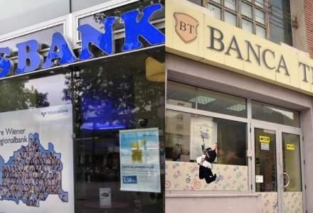Fuziunea BT-Volksbank, finalizata: 10% dintre clientii BT si 400 de angajati provin de la Volksbank