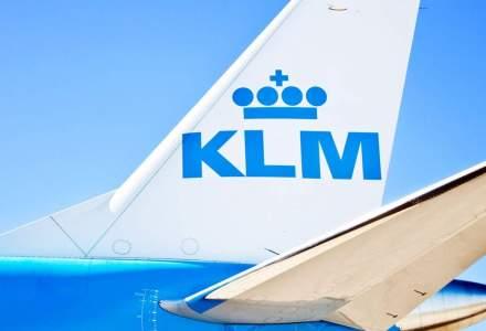 """Pilot KLM, considerat """"un erou"""" dupa ce a aterizat de urgenta la Bucuresti pentru a salva un copil"""