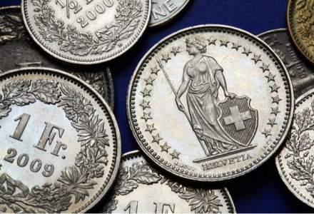 """Elvetia: Francul va ramane """"supraevaluat"""" sau se va deprecia usor in 2016"""