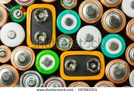 Romanii recicleaza anual sub 10% din bateriile pe care le folosesc