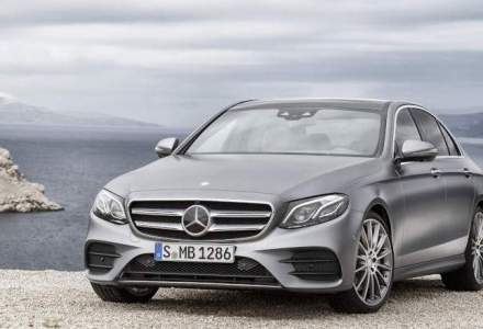Noua generatie Mercedes-Benz Clasa E va fi disponibila din aprilie in Romania