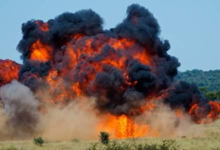 Statele Unite au bombardat o cladire in care era depozitata o suma mare de bani, apartinand Statului Islamic