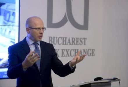 Bursa de la Bucuresti scade cu aproape 4%, trasa in jos de pietele externe si petrol