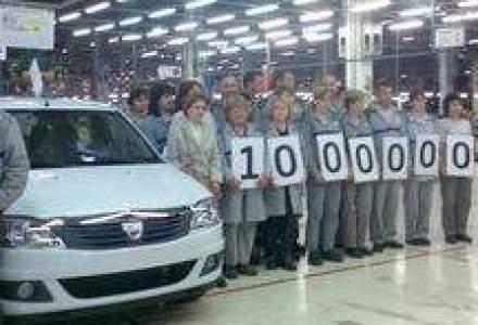 In vizita la Uzina Dacia, Logan-ul 1.000.000 a fost produs