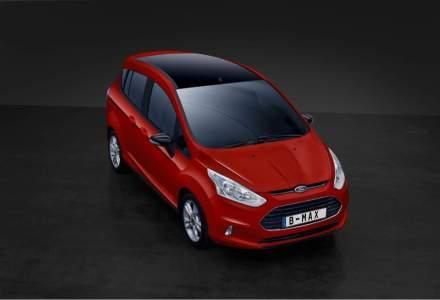 Ford lanseaza B-MAX Colour Edition si motorul EcoBoost de 1 litru 140 CP