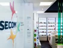Afacerile Secom au crescut cu...