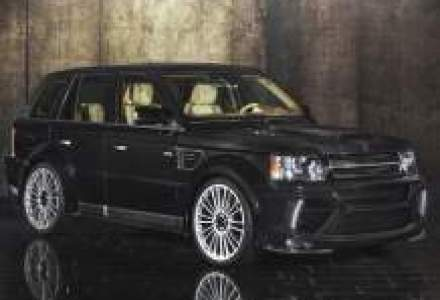 Mansory tuneaza Range Rover Sport