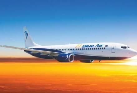 Blue Air zboara de la Bucuresti la Cluj Napoca cu 90 lei, bagaj de cala inclus
