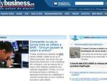 Revista presei de business:...