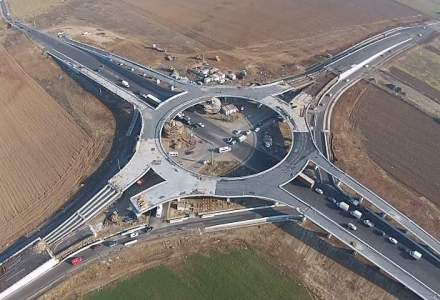 Primul sens giratoriu suspendat din Romania va fi inaugurat in aprilie