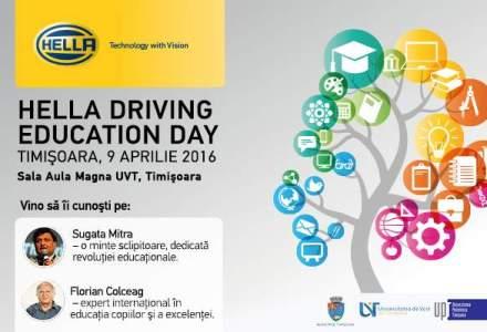 (P) Compania HELLA Romania ii invita pe toti cei interesati si pasionati de educatie la un eveniment gratuit dedicat revolutiei educationale.