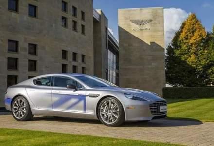 Aston Martin va lansa in 2018 primul sau model electric