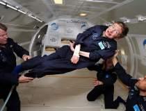 Stephen Hawking va zbura la...