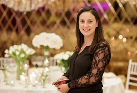 Ea face mii de euro din organizarea de nunti si evenimente pentru companii