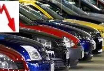 Piata auto este in scadere cu 27% la 10 luni