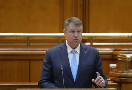 "Anul acesta electoral trebuie sa fie ""altfel"", parlamentarii se intrec in legi cu iz electoral, declara Klaus Iohannis"