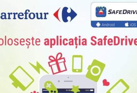 Carrefour lanseaza o aplicatie pe telefon de responsabilizare a soferilor