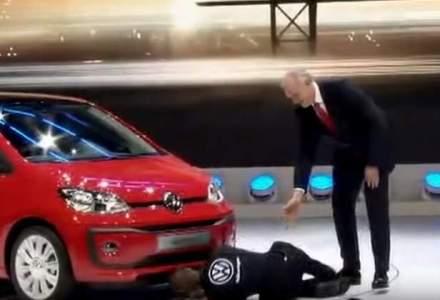 Un protestatar a intrerupt conferinta Volkswagen de la Geneva