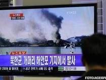 Coreea de Nord a atacat cu...