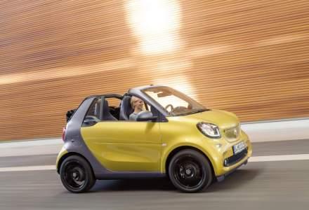 Smart fortwo cabrio este disponibil in Romania. Costa de la 15.760 euro cu TVA