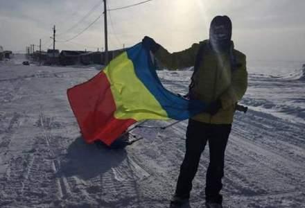 """Un roman a castigat celebrul maraton """"6633 Ultra"""" de la Polul Nord, dupa ce a alergat 566 kilometri"""