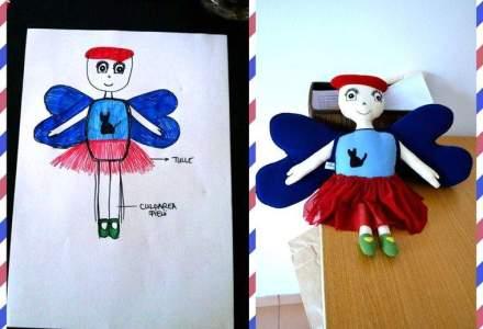 Tinerele care au fondat un business din vanzarea de papusi create dupa desenele copiilor