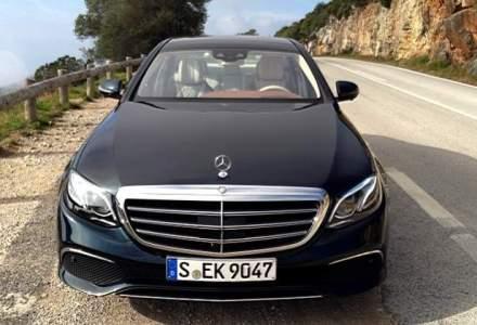 Test drive cu noul Mercedes-Benz Clasa E: sofatul semi-autonom cu primul diesel de 2 litri