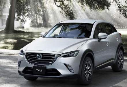 Mazda CX-3 a devenit cel mai vandut model al marcii in Romania