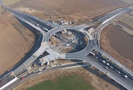 Primul sens giratoriu suspendat din Romania va fi inaugurat sambata