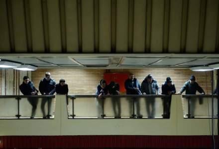 Circulatia oprita pe magistrala de metrou Berceni-Pipera din cauza unor degajari de fum pe tunel
