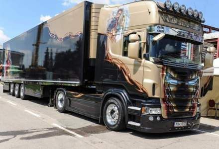 Cea mai mare expozitie de camioane din Sud-Estul Europei, in mai la Bucuresti