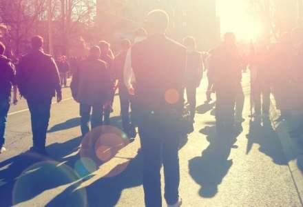 Peste 3.000 de persoane la un miting de sustinere a familiei Bodnariu in Cluj