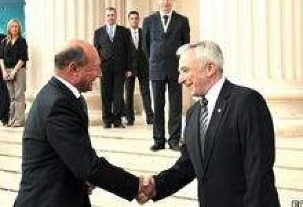 Basescu si Isarescu au stabilit parametrii noului acord cu UE si FMI