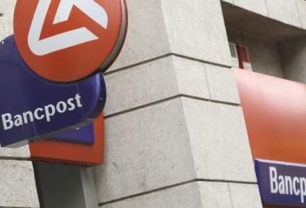 Bancpost anunta un profit trimestrial de 19 milioane lei, in scadere cu 24%