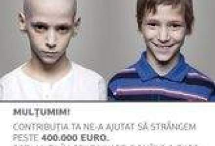 O campanie umanitara a strans 400.000 euro din redirectionarea a 20% din impozitul pe profit