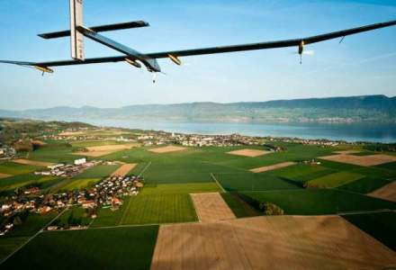 Asistam la o revolutie in transportul aerian: un avion electric, pe punctul sa faca inconjurul lumii fara pic de carburant