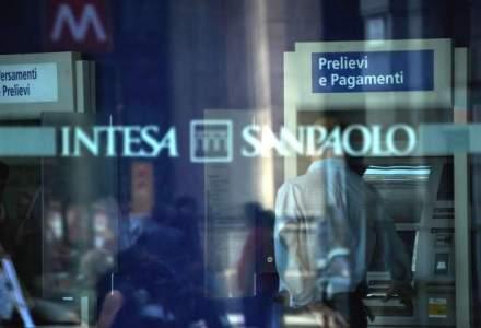 Profitul net al Intesa Sanpaolo in Romania a crescut de trei ori in primul trimestru, la 3 milioane euro