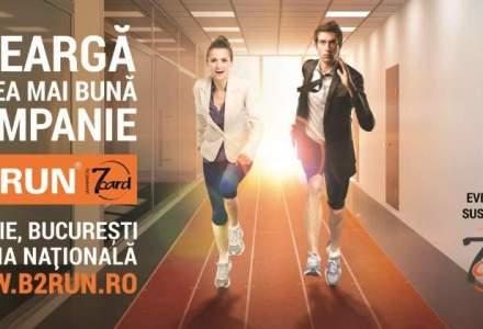 (P) Angajatii companiilor din Romania sunt asteptati la startul cursei B2RUN